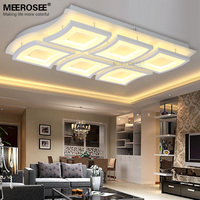 New Arrival LED Ceiling Light Fitting LED White Acrylic Surface Mounted Ceiling Lamp Windows shape Ceiling for Living room