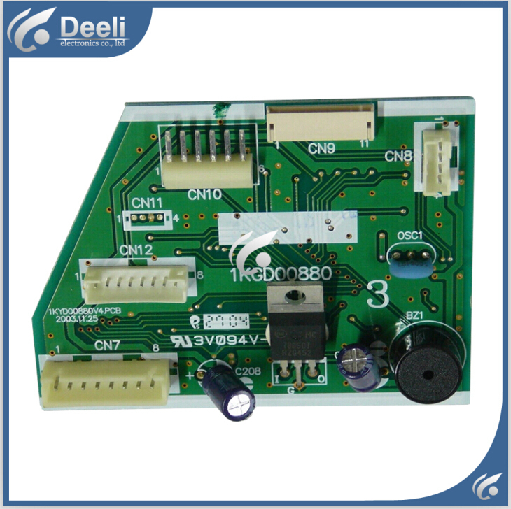 Подробнее о 95% new good working for air conditioning computer board 1KGD00880 1KYD00880V4.PCB PC control board on sale 95% new good working for air conditioning computer board a742148 a742498 a741495 a741358 a71814 pc control board on sale