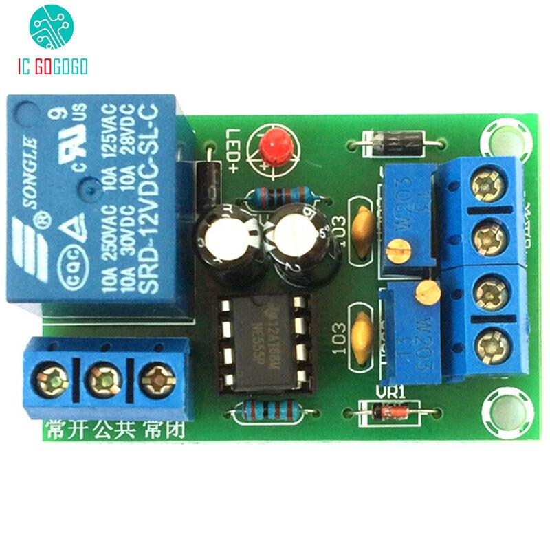 Unterhaltungselektronik RüCksichtsvoll 12 V Batterie Intelligente Automatische Lade Controller Board Anti-überladung Schutz Ladegerät/entladen Control Relais Modul Starke Verpackung