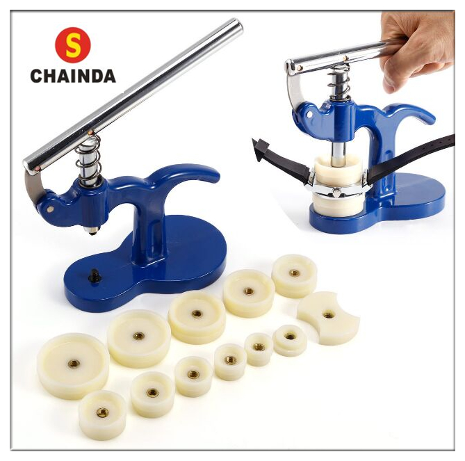 Watch Tool Crystal Press And Case Back Press With Nylon Dies For Watch Repair