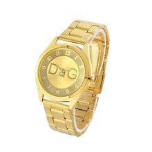 цены Zegarki damskie Brand Stainless Steel Casual Quartz Watch Women Fashion Simple Ladies Watches Men Business Clock Relojes Hombre