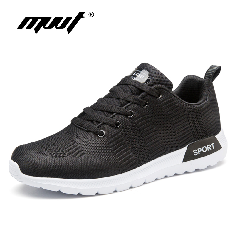New 2018 Spring Breathable Running Shoes Men Sneakers Bounce Summer Mesh Shoes Outdoor Walking Shoes Sport Training Shoes