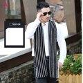 2017 Новое прибытие зимние шарфы шерсти теплый мягкий высокое качество шарф шаль решетки утолщаются бизнес корейской версии шарф мужчин