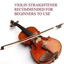 Envío libre del arco de Violín, plancha de postura correcta partes de violín, accesorios de violín