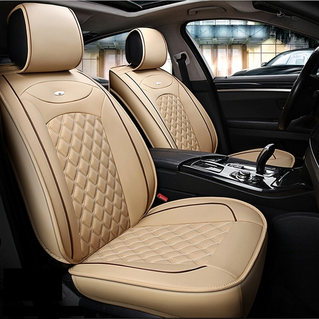 5 Seats Car Seat Cover for Peugeot 206 207 301 307 308 406 407 408 ...