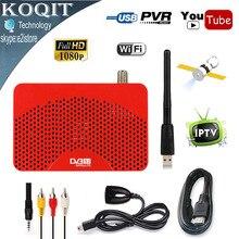 2017 Mini Taille DVB-S2 HD Numérique Récepteur Satellite + IPTV Combo soutien IKS Newcam Cccam Biss Puissance VU + 5370 USB Wifi Dongle