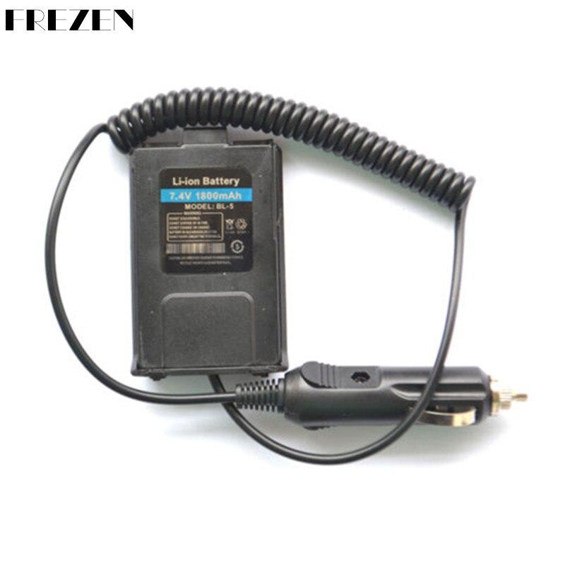 bilder für Auto Charger Battery Eliminator Für BAOFENG UV-5R Dual-band-funkgeräte