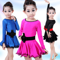 120 160CM New Arrival Ballet Dress For Children Girl Sexy Leotard Ballet Tutu Costume Kids Gymnastics
