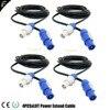 שלב אור Powercon ולצאת כבלי פשוט מחבר 2 m/5 m/10 w אופציונלי כוח טוויסט קישור כבל NC3FCA כחול NC3FCB כחול/אפור