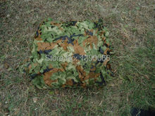 8x8ft Woodland Camouflage Net camo netting camo cover Camping Tent Sun Shelter For Hunting home decoration