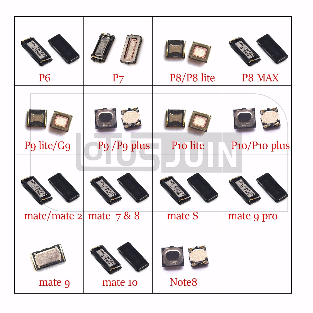 2x New earpiece Ear Speaker for Huawei Ascend P6 P7 P8 P9 ...