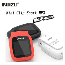 Big sale Ruizu X09 Portable Lossless Digital Sport Screen Hifi Audio Mp 3 Mini Clip Music Mp3 Player FM Radio With Flac LCD Running WAV
