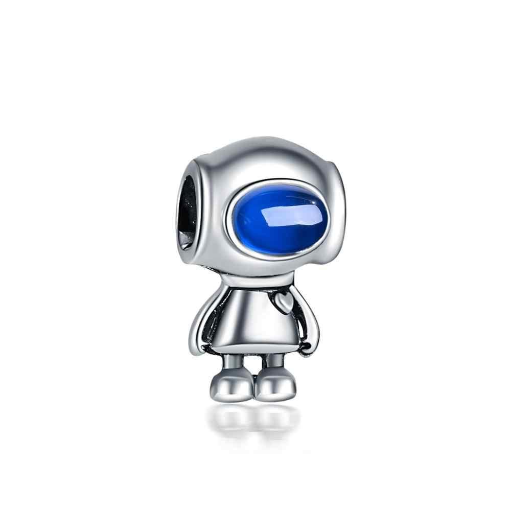 2019 neue 1 pc europäischen bella roboter weiß see blau rosa grün diy bead Fit Pandora Charms silber Armband original für frauen F119