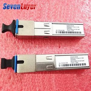 Image 1 - GPON OLT SFP מודולים GEPON SFP SC מודול יחיד מודול EPON B + C + Class 1490nm/1310nm אורך גל אחת SC נמל