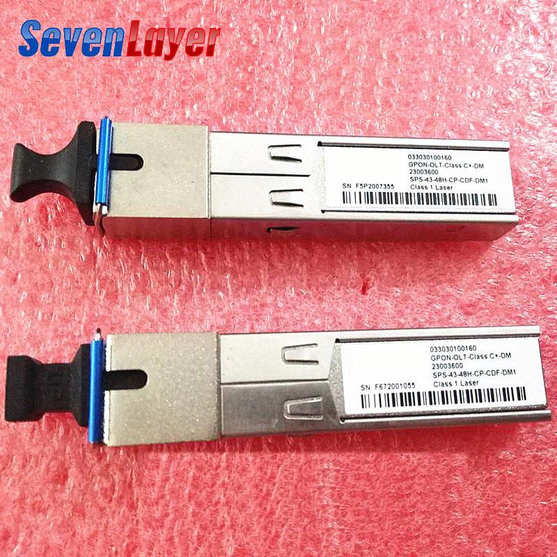 GPON OLT SFP Modules GEPON SFP SC Module Single Module EPON B+ C+ Class 1490nm/1310nm Wavelength Single SC Port