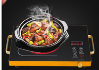 Big power hot pot electric pottery stove microwave oven commercial stir fry soup barbecue timer function fryer