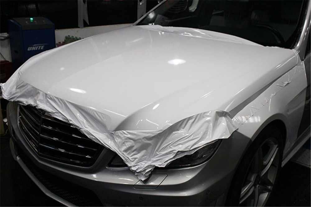 Vari colori bianco lucido nero pellicola per avvolgere il vinile pellicola per avvolgimento auto blu Tiffany pellicola per bolle libera per la pelle della Console del telefono della bici dell'automobile
