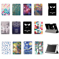 Case For Lenovo Tab 4 8 TB 8504x Leather Case Smart Cover For Lenovo TAB4 8