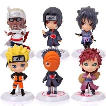 Figuras chibi de Naruto (6cm) Figuras de Naruto Merchandising de Naruto