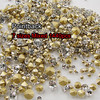 Mixed Sizes! 7 Sizes Crystal Clear 1440pcs SS6 SS8 SS10 SS12 SS16 SS20 SS29 Point Back Rhinestones glass strass chaton stone