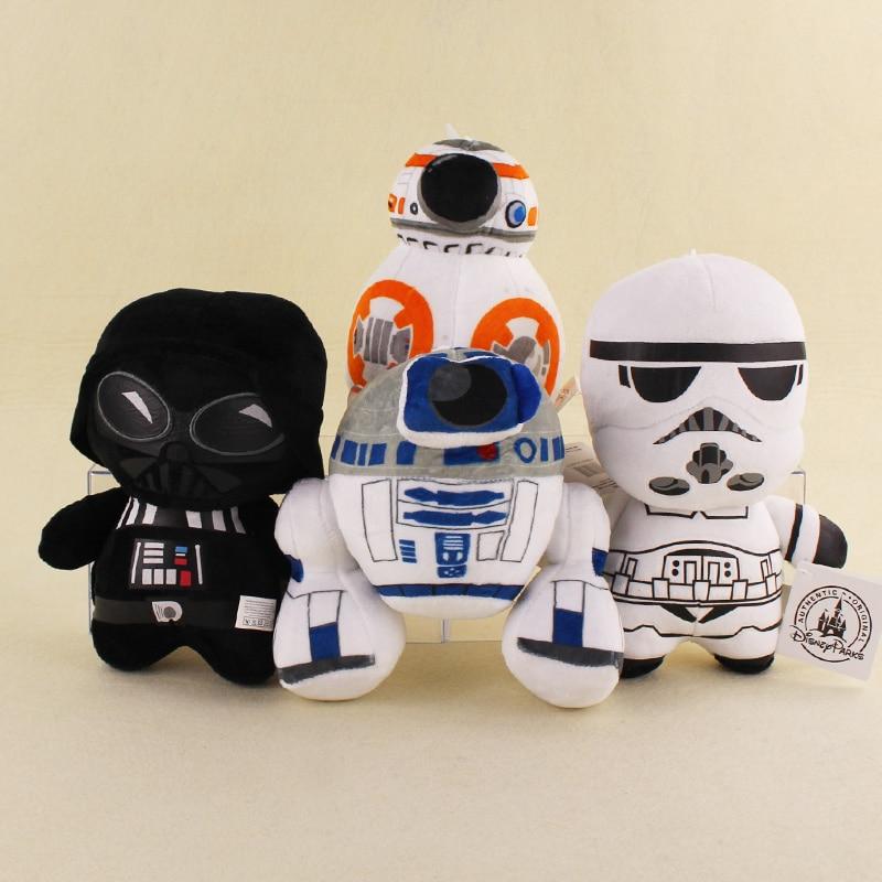 4 Styles Cute Star Wars The Force Awaken BB 8 Droid Robot R2D2 Darth Vador Storm