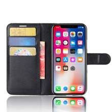 Mobile Phone Case For iPhone X 7 8Plus Soft Silicone Back Cover for Flip Wallet Card Location