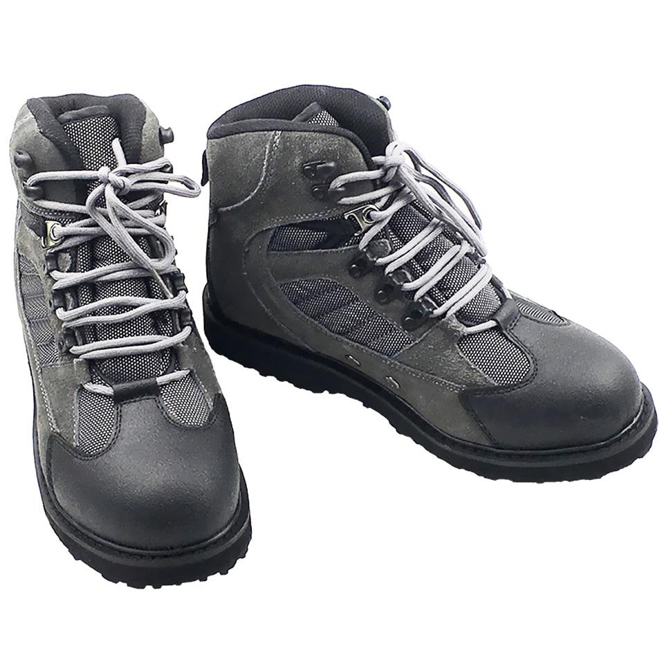 Pesca con mosca zapatos Aqua zapatillas de deporte transpirables Rock deporte vadeando botas suela de goma botas de caza peces antideslizante de agua al aire libre zapatos de hombre