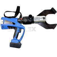 Digital Rechargeable 18V battery Cordless Cable Cutter Hydraulic Electric Cable Shear Wire Cutter 105mm