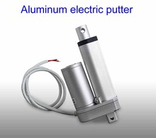 Buy 12mm/s 100KG electric putter 12v Linear Motor 50mm stroke Pusher dc motor, ac electric putter lift telescopic Telescopic rod