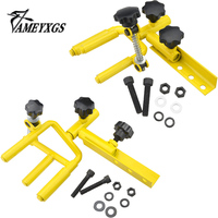 1 Set Archery Bow Vise 360 Degree Adjustment All steel Construction Professional Equipment Universal Compound Bow Accessories