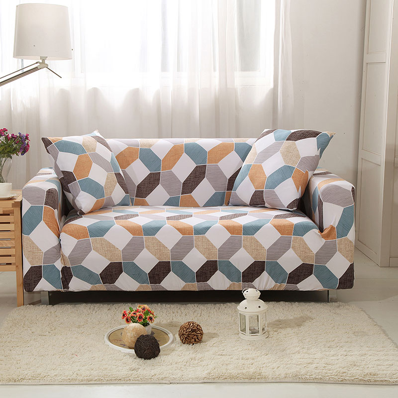 Up To 3 Seats Stretchable Sofa Cover 10