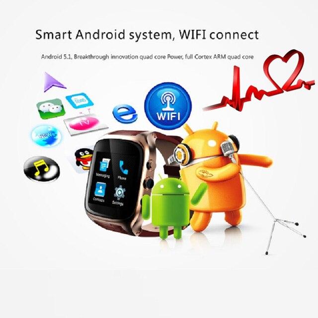 Ourtime X01S Smart watch Dual Core Android 5.1 1.54 дюймов 3 Г Smartwatch Телефон MTK6572 1.3 ГГц Водонепроницаемый GPS Тяжести Шагомер