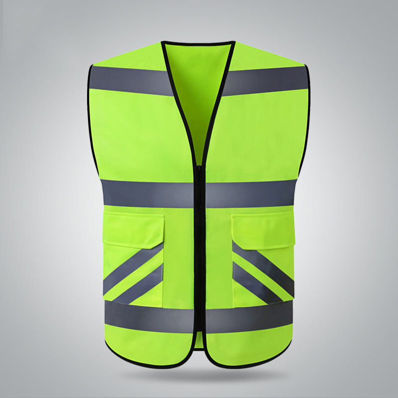 New Hi vis workwear safety vest reflective vest with reflective stripes for motorcycle jiade two tone hi vis safety vest reflective