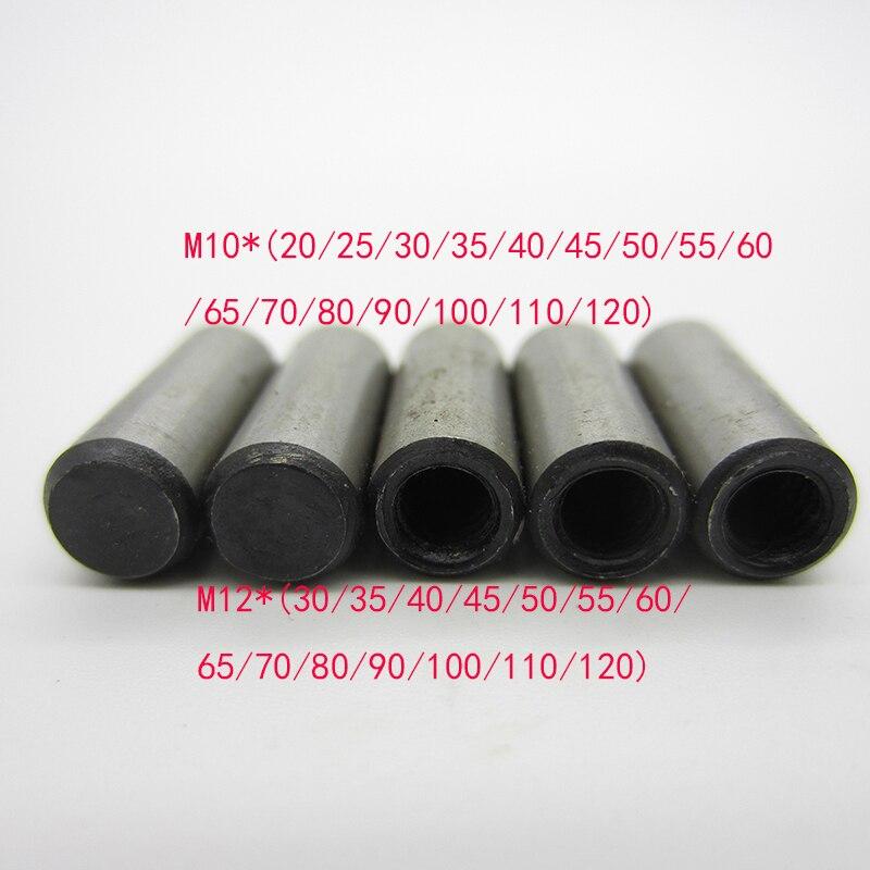 1PCS M10 M12*(20/30/35/40/45/50/55/60/65/70/80/90/100/110/120) DIN 7978 Taper Pins With Internal Thread GB118