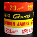 3/4 inch wide Lebron James wristband silicone bracelets rubber cuff wrist bands bangle free shipping