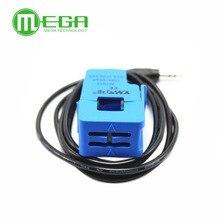 Transformador de corriente de núcleo dividido, no invasivo, 5 uds., sensor de corriente de CA SCT 013 000 30A 50A 100A