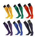 cheap solid colour high quality wholesale adult men football soccer socks
