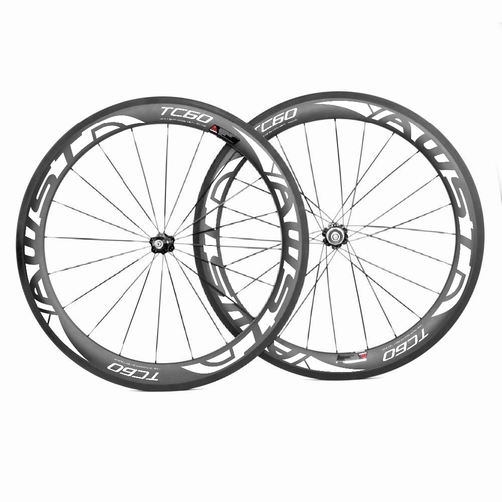 60mm carbon wheelset ,700C road bike wheelset, clincher/tubular carbon wheel Disc brake wheels 25mm wideth velosa supreme 50 bike carbon wheelset 60mm clincher tubular light weight 700c road bike wheel 1380g