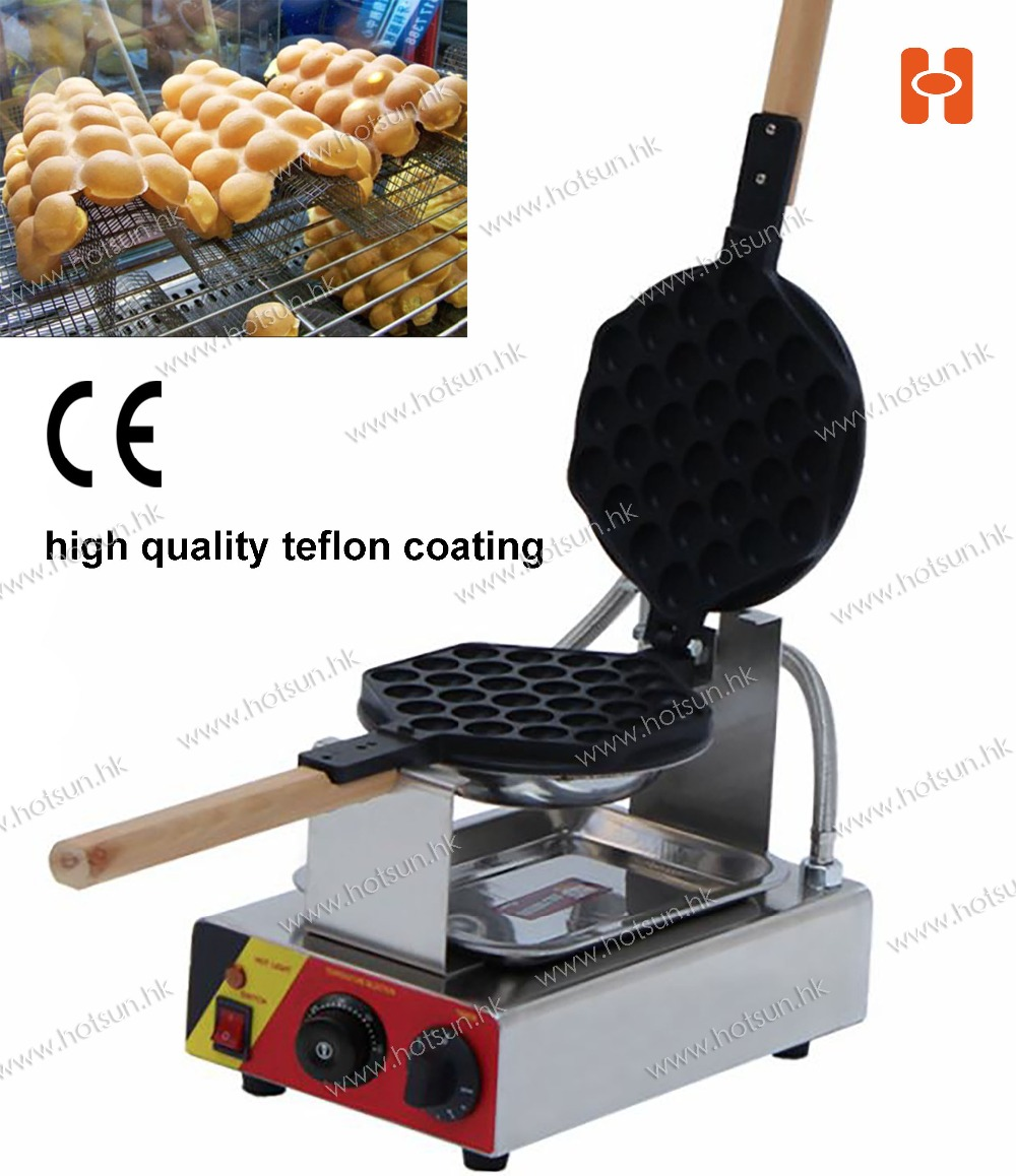 Free Shipping Commercial Use Non Stick 110V 220V Electric Eggettes Egg Waffle Iron Maker With CE cerruti 1881 cerruti 1881 ce899bmjcj18