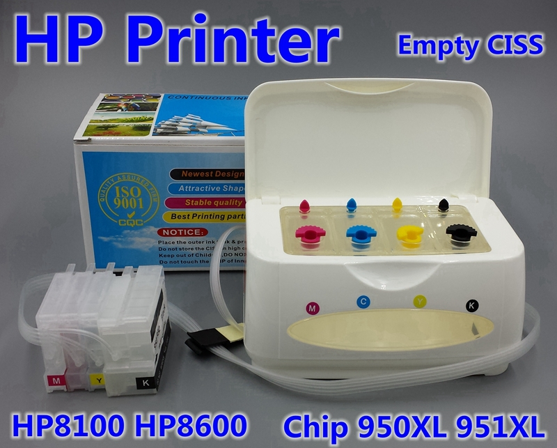 NEW CHIP hp950 hp951 cartridge for CISS ink tank apply to printer hp Officejet Pro 8100 8600 Continuous Ink Supply System