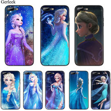 Soft TPU Snow Queen Aisha Mobile Phone Case for iPhone 7 8 6 6s Plus iPhone 11 Pro XR X XS Max 5 5s SE Cover(China)