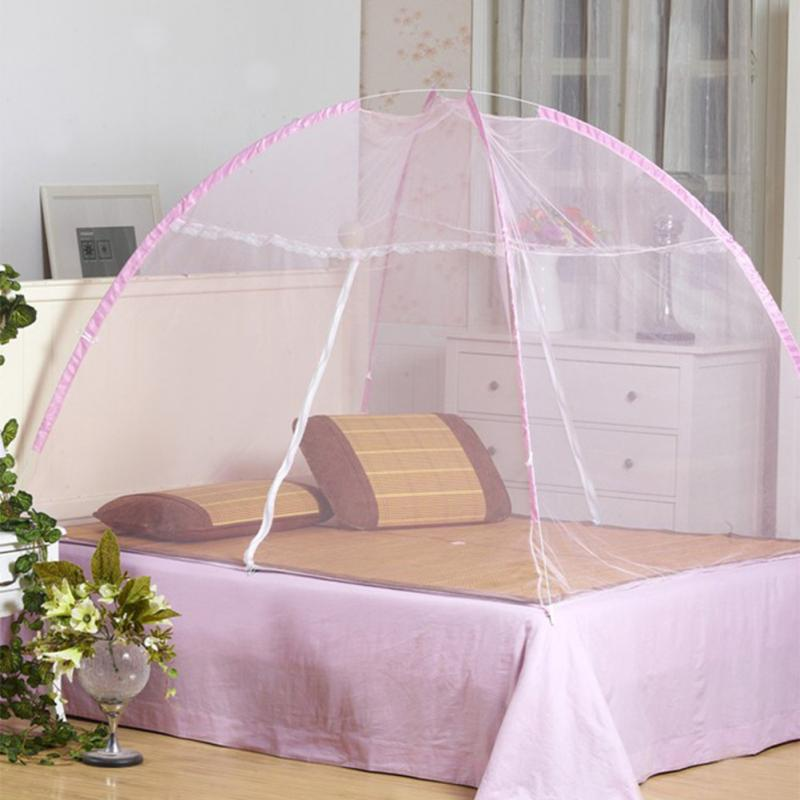 Lace Nets Folding Mongolia Mosquito Net Tent Style Pop Up Canopy Curtains Student Paper Account Baby Mosquito Bedroom Decor 2017-in Mosquito Net from Home ... & Lace Nets Folding Mongolia Mosquito Net Tent Style Pop Up Canopy ...