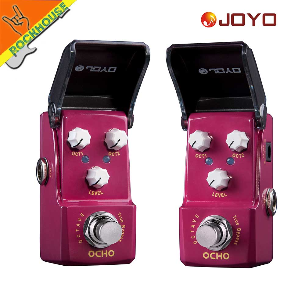 JOYO Ironman JF 330 OCHO Octave Guitar Effects Pedal 2 Octave knobs Nice Church Music Tone True Bypass Free Shipping in Guitar Parts Accessories from Sports Entertainment