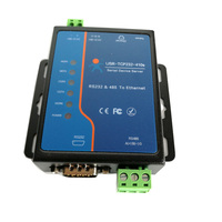 USR TCP232 410s ModBus RTU Converters support DNS DHCP RS232 RS485 SERIAL TO ETHERNET TCP/IP MODULE