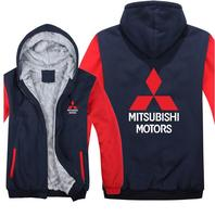 a68fb5749 ... Homens do Velo Toyota Logotipo Moletom. US  29.00. New Mitsubishi  Hoodie Fashion Car Hooded Jacket Toyota Car Autumn And Winter Warm Zipper  Thick Jacket