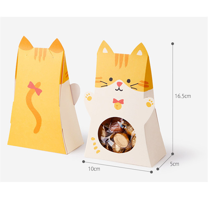 80 x cute cartoon animal bunny favor box dog cat printable easter 80 x cute cartoon animal bunny favor box dog cat printable easter party gift box diy spring celebration bags in gift bags wrapping supplies from home negle Choice Image