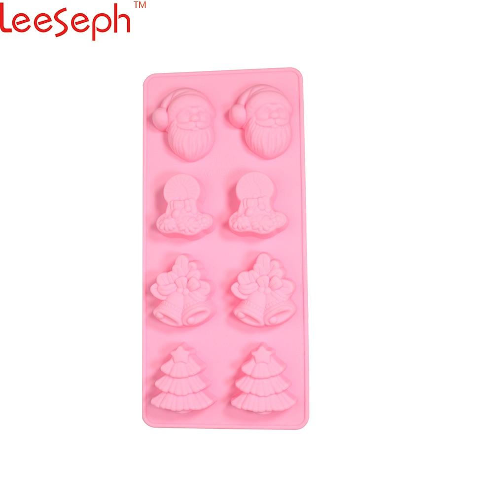 Leeseph új prémium szilikon karácsonyi édességformák - Konyha, étkező és bár