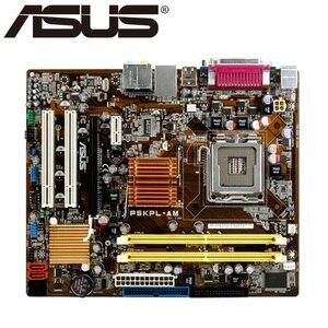 Asus P5KPL-AM Desktop Motherboard G31 Socket LGA For 775 Core Pentium Celeron DDR2 4G u ATX UEFI BIOS Used Mainboard Original