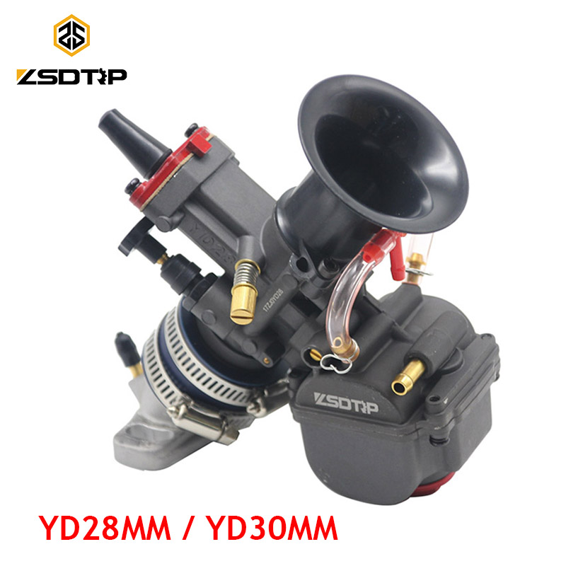 ZSDTRP YD28 YD30mm Universal Maikuni PWK Carburetor Parts Scooters With Power Jet ATV Motorcycle Racing Parts Scooter free shipping zsdtrp pd30j gy6 250 cc scooter carburetor parts vacuum model universal fit on other 250cc scooters