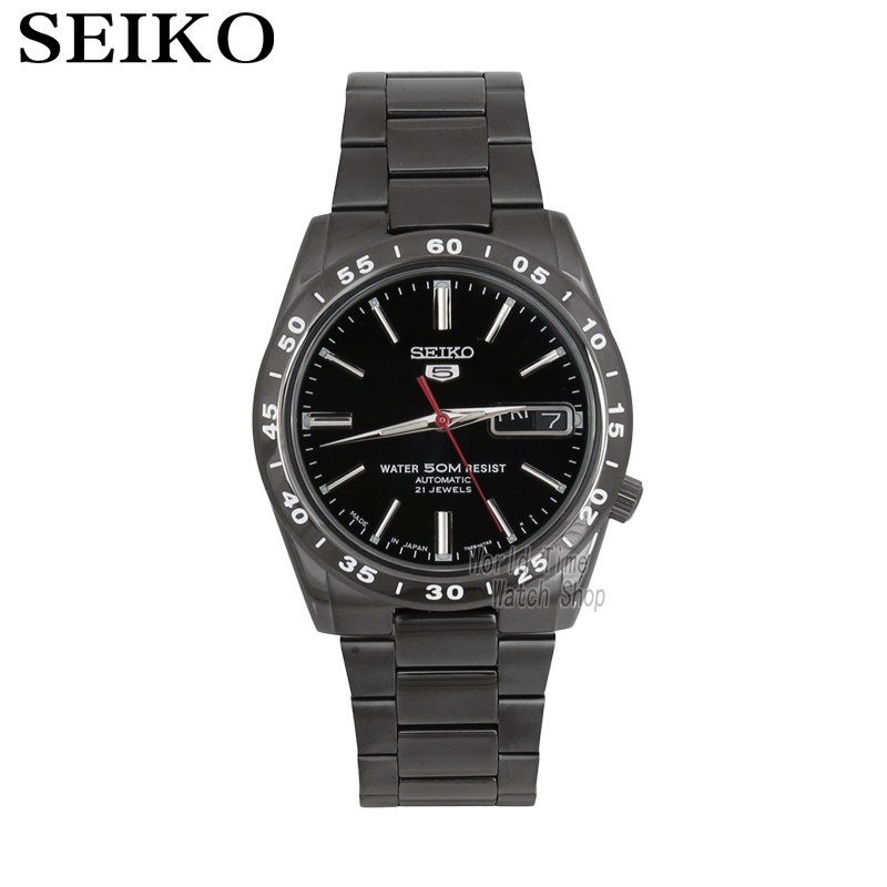 SEIKO Shield No.5 Automatic Mechanical Men 's Watch Gold Strap White Strap SNKE04K1 SNKE03J1 vertu signature s design white gold реплика москва